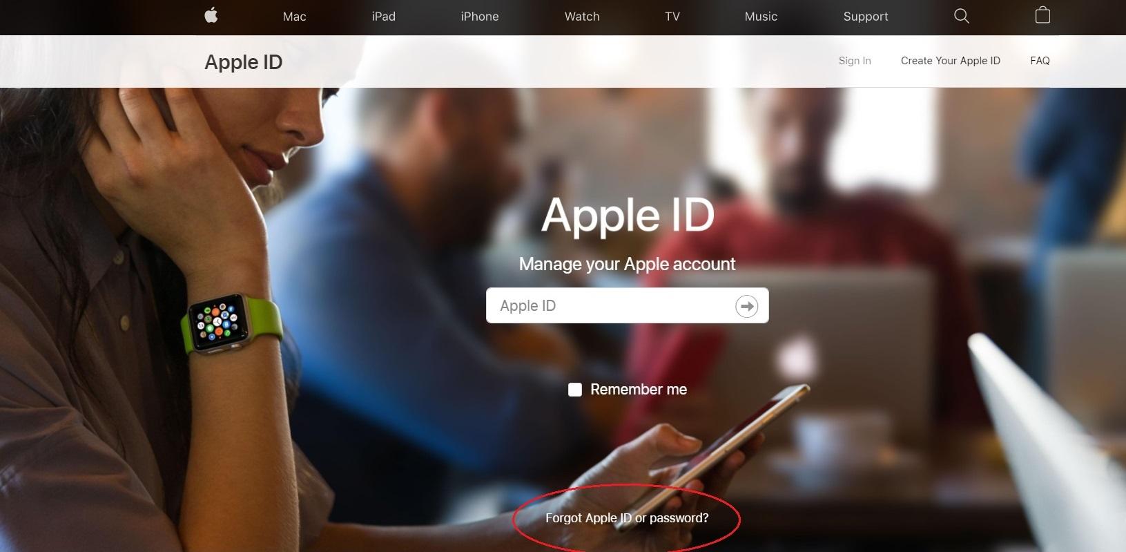 Làm thế nào để lấy lại mật khẩu iCloud?