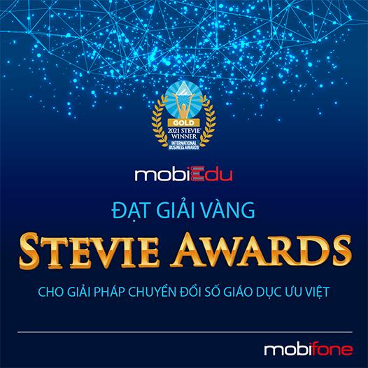 MobiFone chiến thắng 5 giải thưởng Stevie Awards tại giải thưởng Kinh doanh Quốc tế