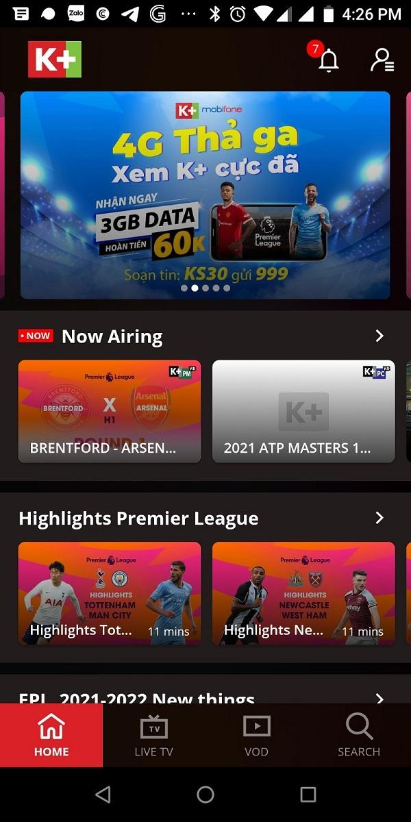 Cách đăng ký gói 4G MobiFone K+ 1 tháng