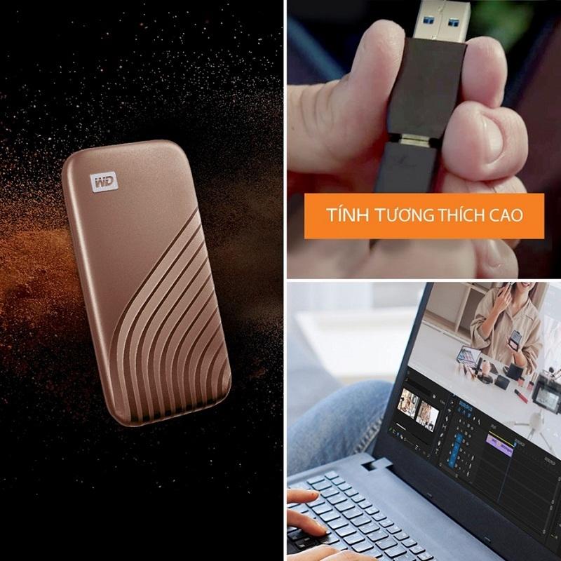 Eternal Asia Việt Nam phân phối ổ cứng WD My Passport SSD công nghệ NVMe