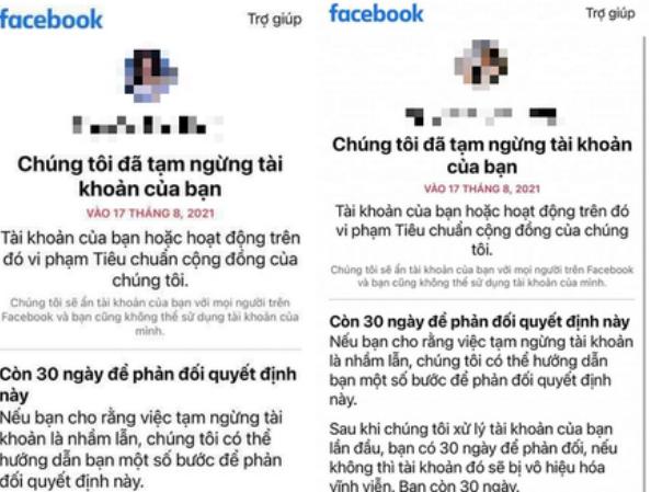 """Khó khôi phục lại tài khoản Facebook bị khoá liên quan đến hình ảnh """"nhạy cảm"""" về trẻ em"""