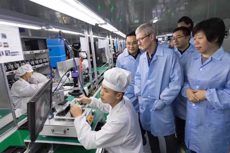 Apple hoãn kế hoạch rời chuỗi cung ứng khỏi Trung Quốc