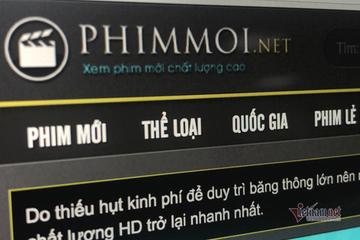 Khởi tố vụ án hình sự liên quan đến website Phimmoi.net