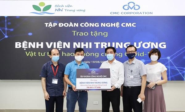CMC chung tay với ngành y, người dân phòng chống dịch Covid-19