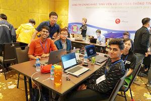 Lần đầu tiên cuộc thi sinh viên với an toàn thông tin diễn ra online hoàn toàn