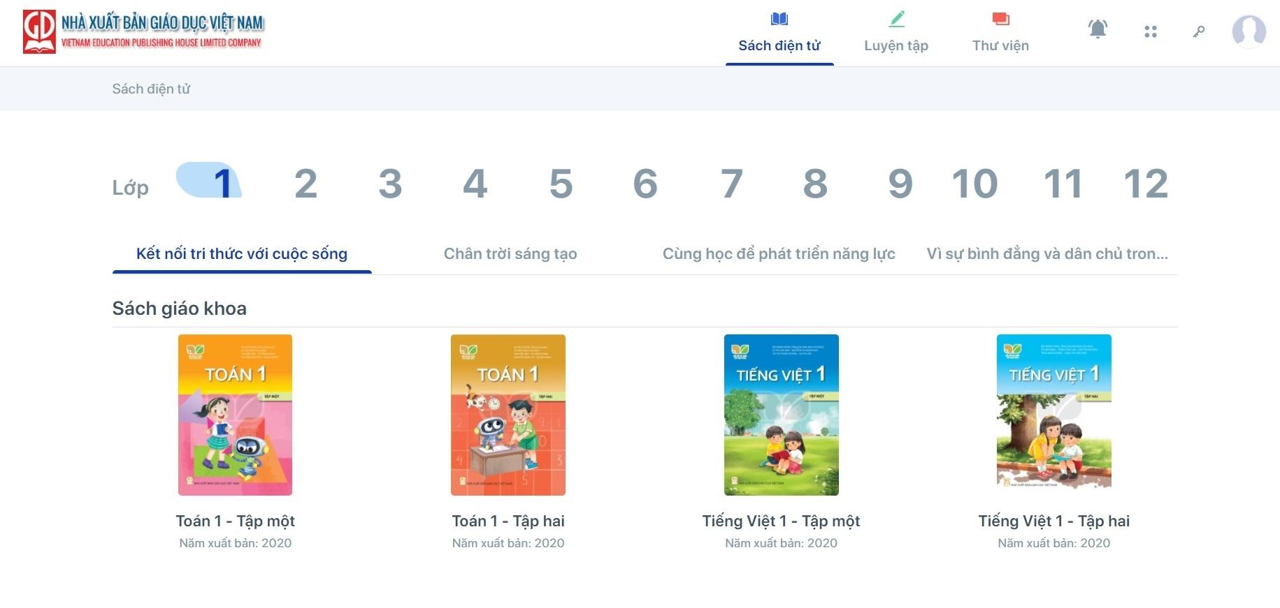 Hướng dẫn đọc sách giáo khoa điện tử miễn phí trong mùa dịch