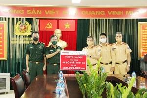 Viettel trang bị wifi 4G cho 23 chốt kiểm dịch của Thành phố Hà Nội