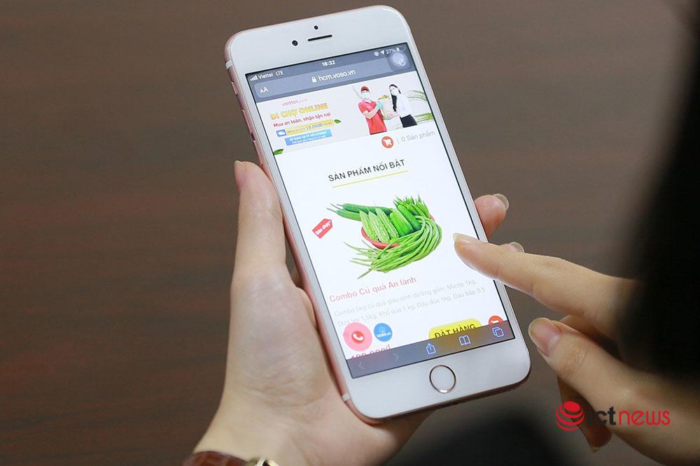 Người dân TP.HCM có thể đi chợ online trên sàn thương mại điện tử Vỏ Sò