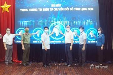 Ra mắt trang thông tin điện tử Chuyển đổi số tỉnh Lạng Sơn