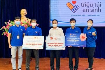 Đoàn thanh niên MobiFone tặng 1.000 túi an sinh cho người dân có hoàn cảnh khó khăn
