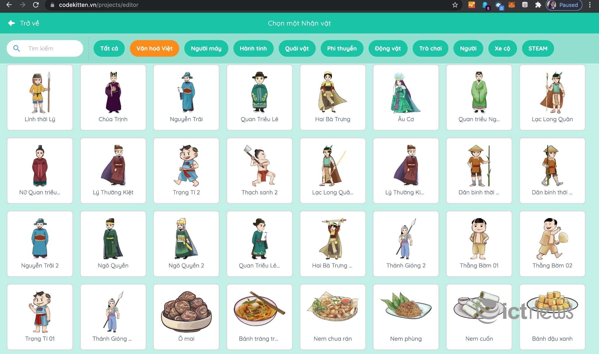 Nền tảng học lập trình và STEM miễn phí dành riêng cho trẻ em Việt Nam