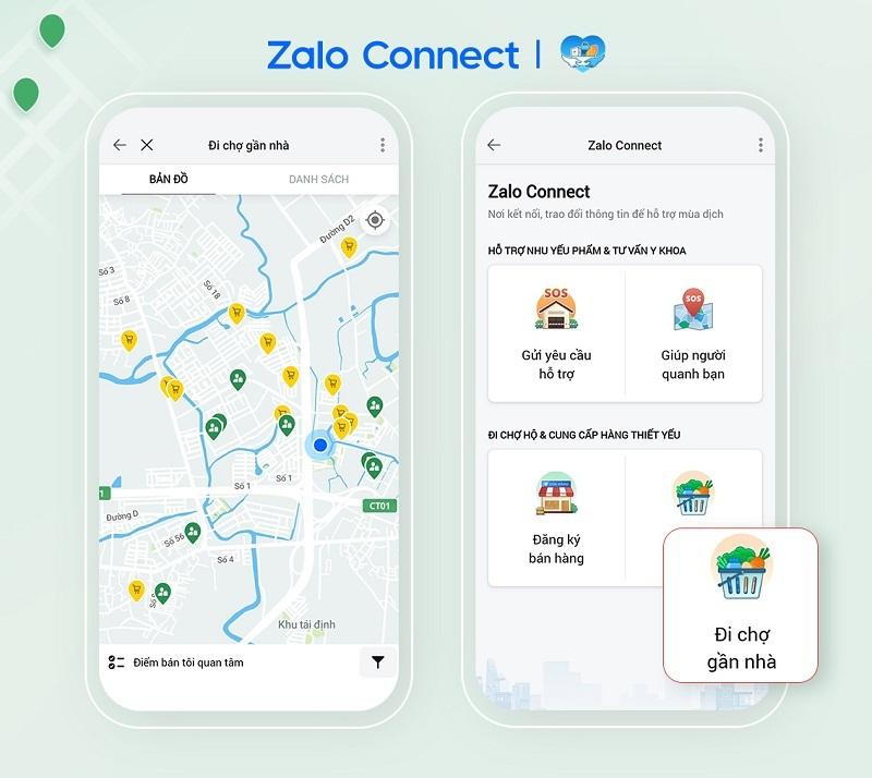 Zalo Connect ghi nhận 85.000 lượt giúp đỡ, mở rộng ra 45 tỉnh/thành