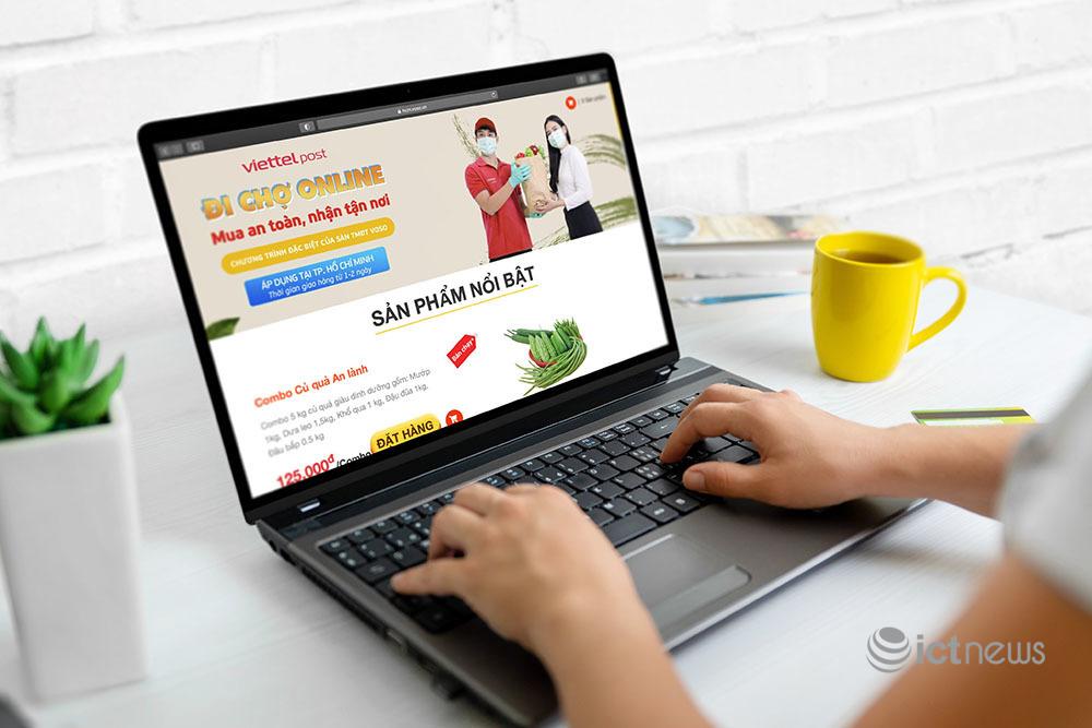Bưu chính vẫn đảm bảo cung ứng thực phẩm, hàng hóa dịp Quốc khánh 2/9