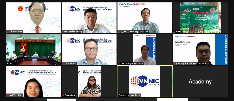 Hỗ trợ người dân, doanh nghiệp Thái Nguyên phát triển kinh tế số với tên miền .VN