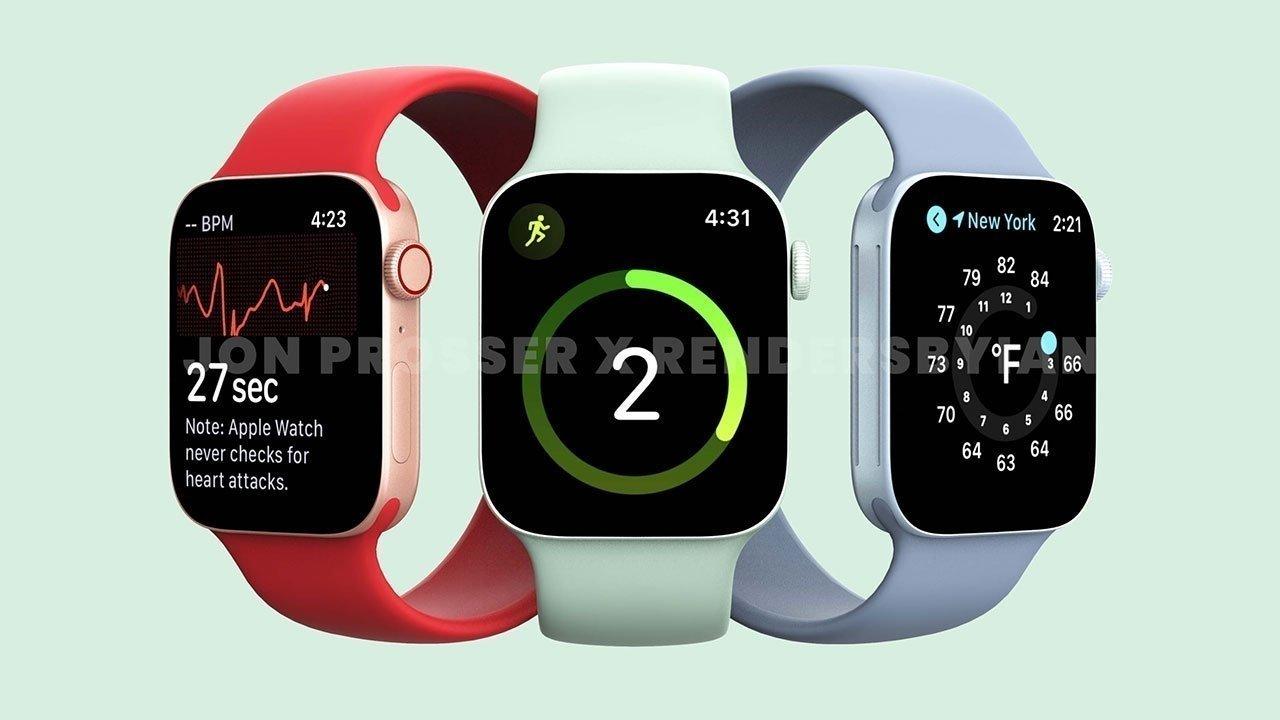 Apple Watch Series 7 có thể khan hiếm hàng khi ra mắt