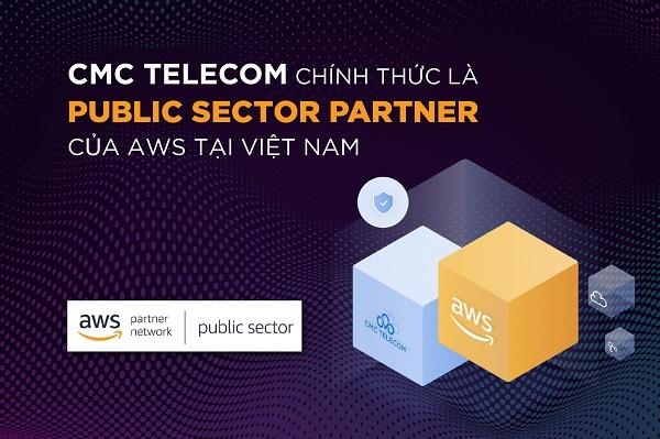 CMC Telecom chính thức là Public Sector Partner của AWS tại Việt Nam