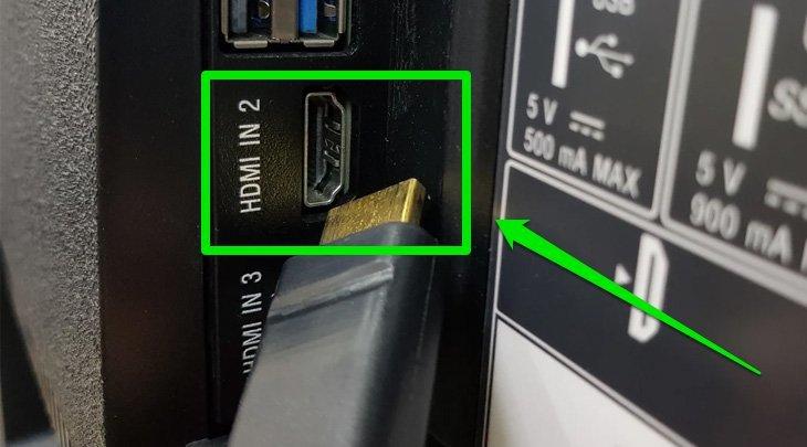 Hướng dẫn kết nối laptop với tivi qua dây cáp HDMI