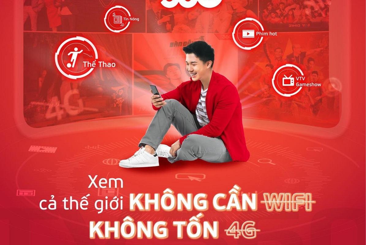 Hướng dẫn đăng ký 4G Viettel không giới hạn dung lượng VTV Go