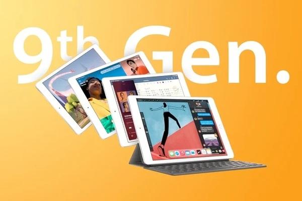 iPad 9 xuất hiện cùng với iPhone 13 ở sự kiện đêm nay?