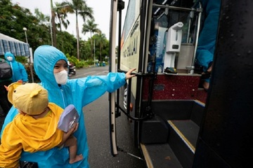 Phú Yên đã đưa đón hơn 10.000 công dân về quê