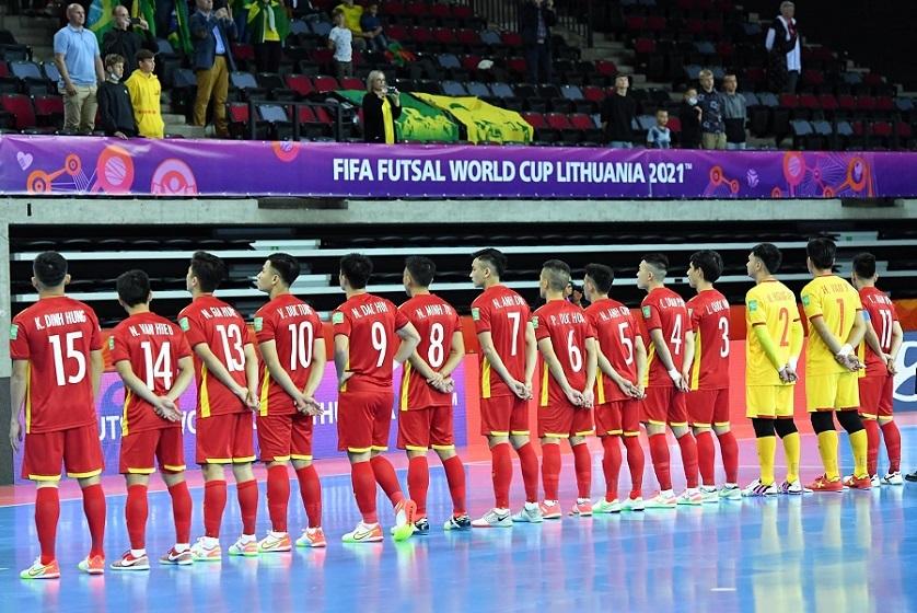 Xem Futsal World Cup 2021 trực tuyến: Việt Nam vs Panama