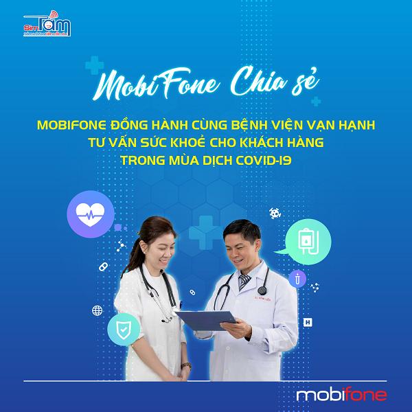 MobiFone tư vấn sức khỏe cho khách hàng khu vực Đông Nam Bộ trong mùa dịch