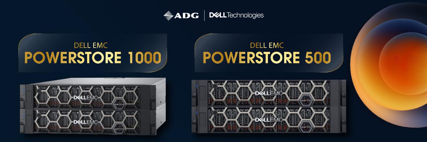 Dell EMC PowerStore 500 và 1000: Chi phí tối ưu, hiệu năng vượt trội