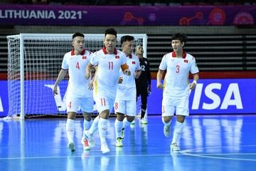 Xem Futsal World Cup 2021 trực tuyến: Việt Nam gặp Cộng hòa Séc