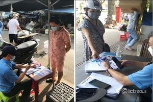 Người dân Huế khi di chuyển trong tỉnh phải dùng Thẻ kiểm soát dịch bệnh gắn QR quốc gia