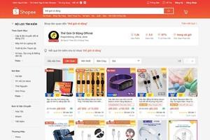 Nắm kênh bán hàng mạnh, nhưng Thế Giới Di Động vẫn bán hàng trên Tiki, Shopee