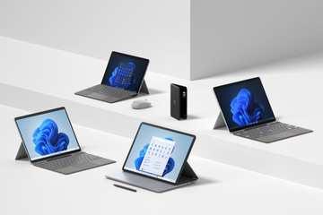 Microsoft ra loạt máy tính Surface và smartphone gập mới