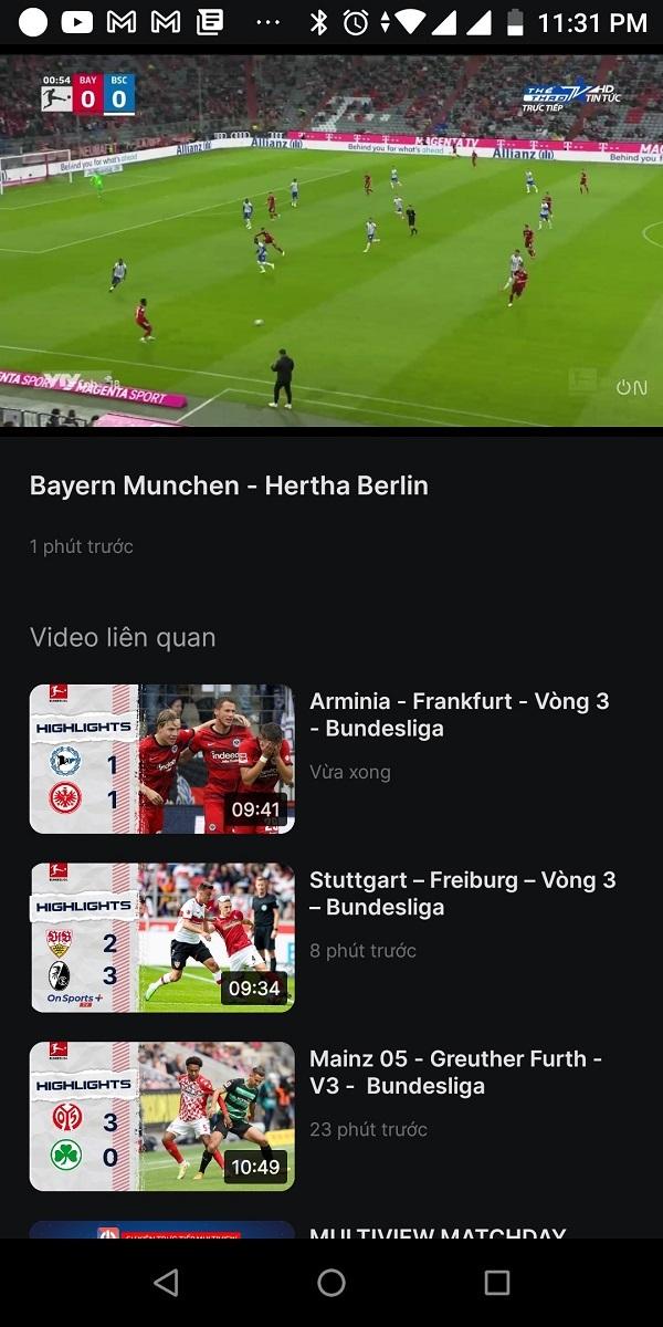 Hướng dẫn xem bóng đá Đức, Pháp, Tây Ban Nha... miễn phí hàng tuần