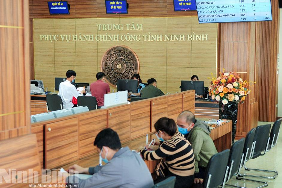 Toàn bộ 1.226 dịch vụ công đủ điều kiện được Ninh Bình cung cấp trực tuyến mức 4