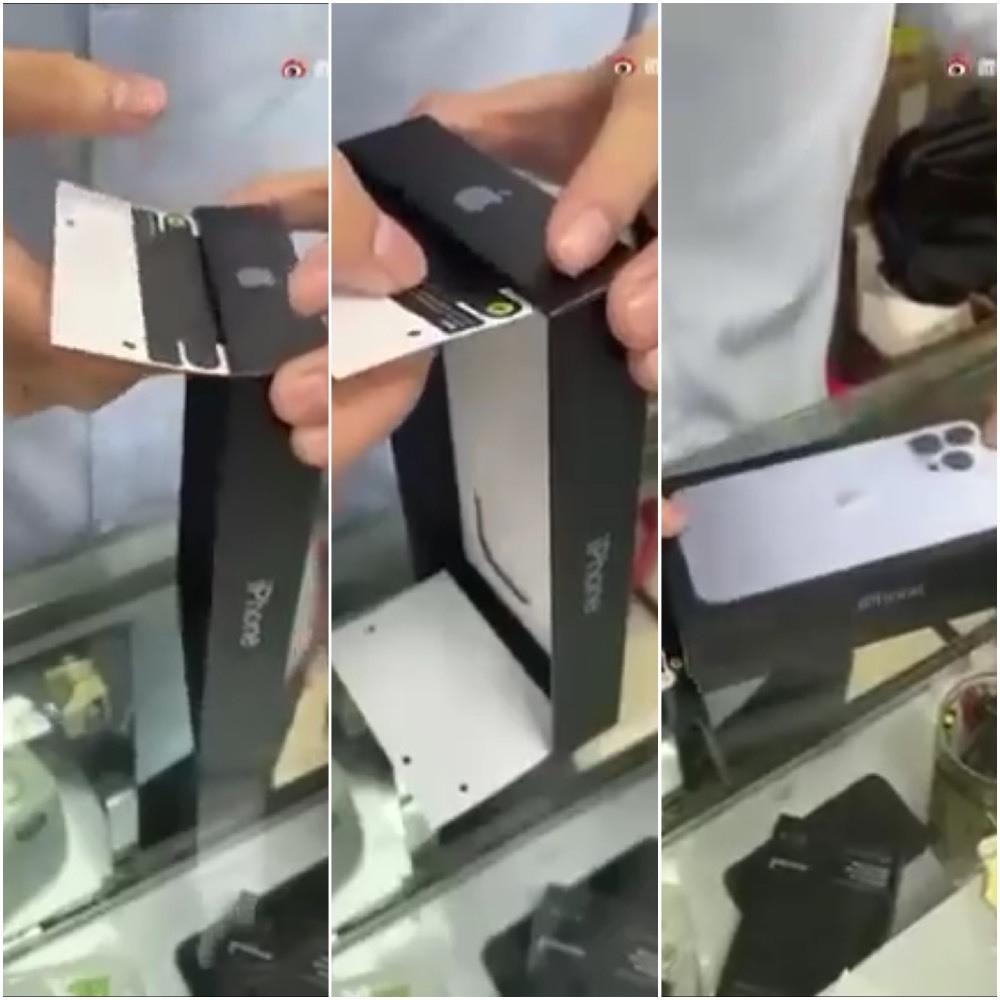 Cận cảnh quy trình làm giả tem niêm phong của Apple, cẩn thận khi mua iPhone 13