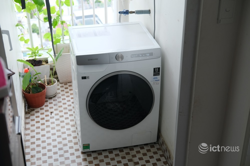 Thử dùng máy giặt tích hợp AI, khác gì máy giặt thường?