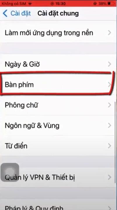 Hướng dẫn gõ tiếng Việt trên iOS 15 bằng tính năng lướt phím QuickPath