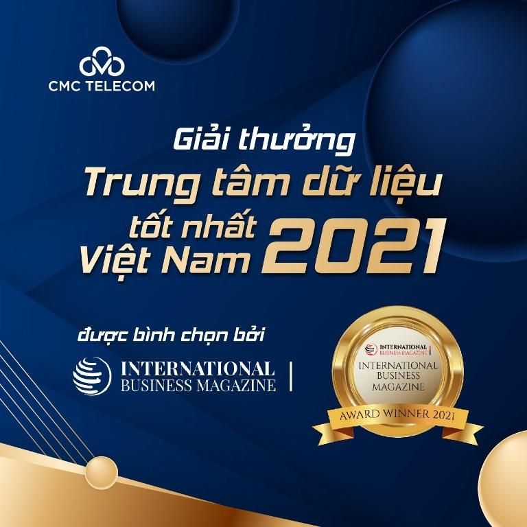 """CMC Telecom giành """"cú đúp"""" giải thưởng quốc tế cho dịch vụ CMC Cloud và Data Center"""