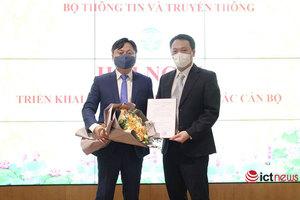 Bộ TT&TT biệt phái cán bộ đến công tác tại Học viện chính trị Quốc gia Hồ Chí Minh