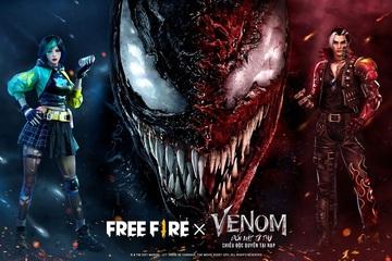 Bom tấn điện ảnh đầu tiên của Free Fire x Venom: Đối Mặt Tử Thù