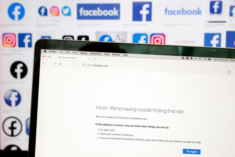 Facebook đang khắc phục sự cố gián đoạn tồi tệ nhất trong đêm qua