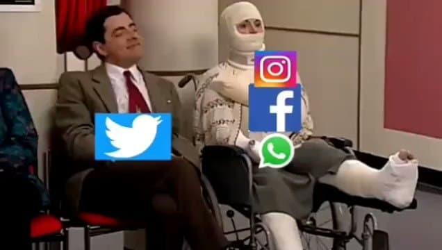 Ngập tràn ảnh chế Facebook bị sập trên toàn cầu