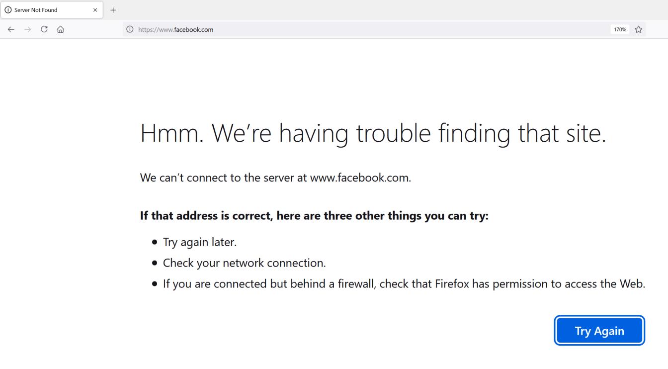 Vì sao Facebook mất hơn 6 tiếng để khắc phục sự cố?