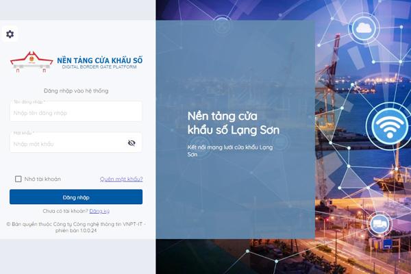 Lạng Sơn xây dựng cửa khẩu số để giải bài toán xuất khẩu của cả nước