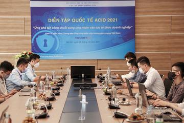 Việt Nam cùng 15 nước diễn tập ứng phó tấn công chuỗi cung ứng vào doanh nghiệp, tổ chức