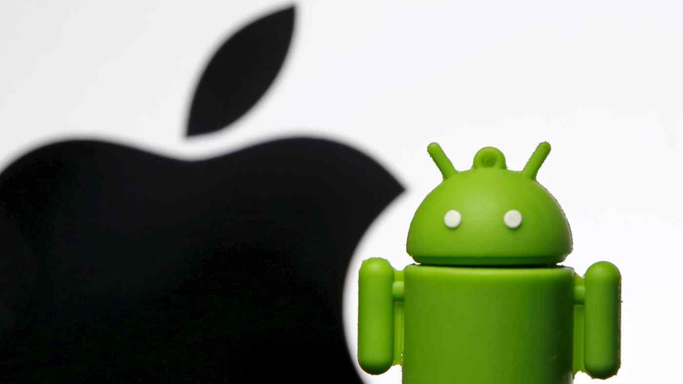 Nhật xem xét hành vi độc quyền của Apple và Google