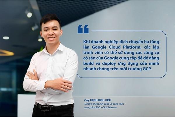 Chuyên gia Google, CMC Telecom tiết lộ giải pháp tăng tốc hiện đại hóa hạ tầng trong hội thảo GCP