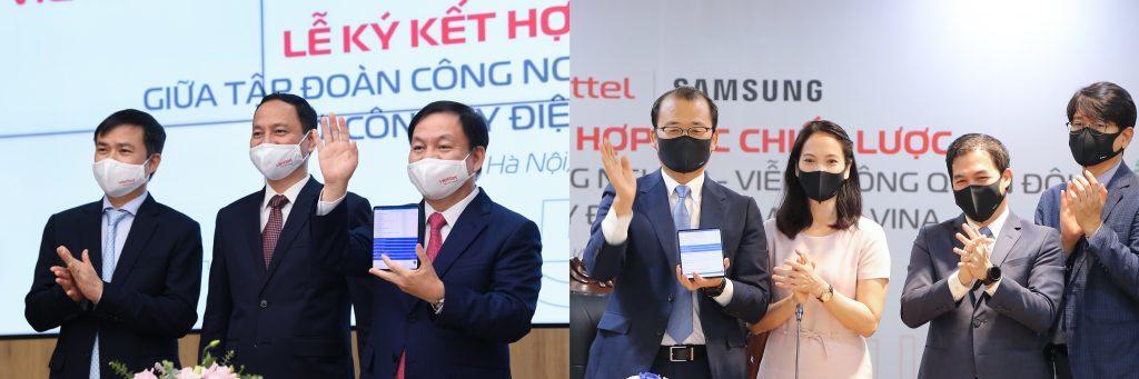 Samsung và Viettel  bắt tay hợp tác đẩy nhanh tiến trình phổ biến 5G