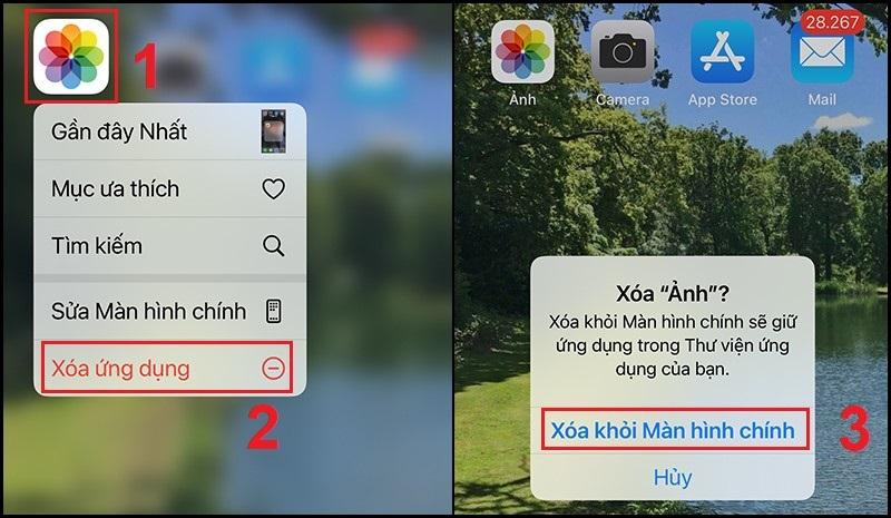 Hướng dẫn ẩn ứng dụng ngoài màn hình Home trên iPhone