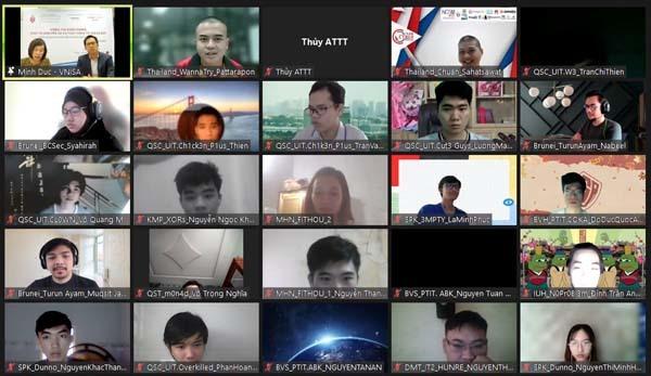 """Các vị trí dẫn đầu vòng khởi động """"Sinh viên với ATTT ASEAN 2021"""" đều của Việt Nam"""