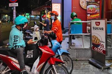 Người Sài Gòn đã có thể đặt đồ ăn thức uống thoải mái